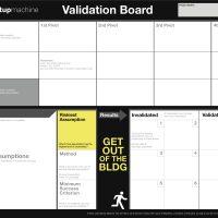 リーンスタートアップの顧客開発を可視化する『バリデーションボード』という方法