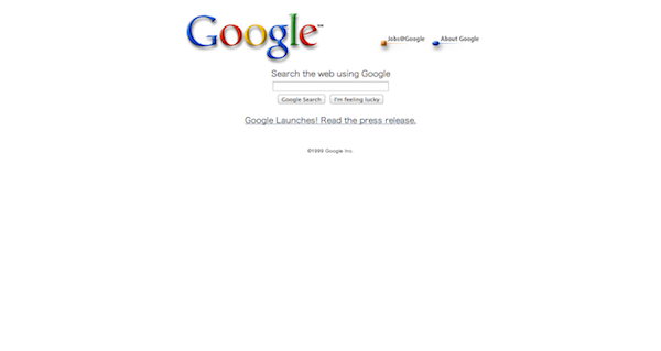 Google 19991012