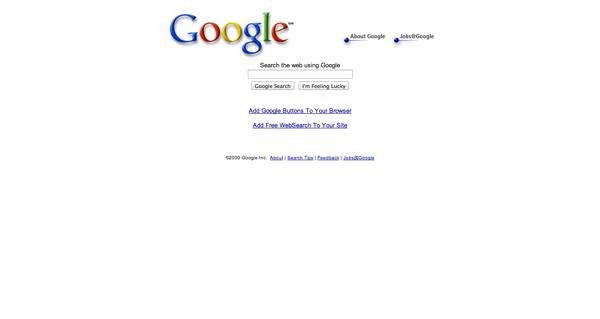 Google 20000301