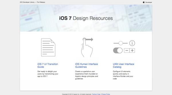 Apple iOS7 Design Resources