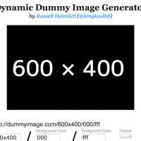 【Webサービス開発の効率化】一瞬で好きなサイズや色でダミー画像を作れる『Dynamic Dummy Image Generator』と猫好きさん用『Placekitten』