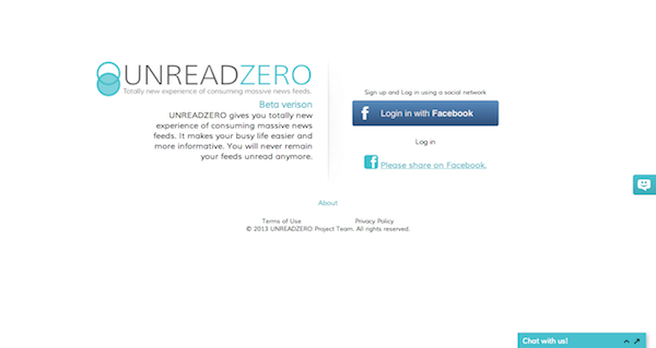 UNREADZERO login
