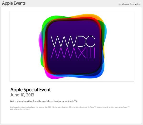 Apple wwdc2013