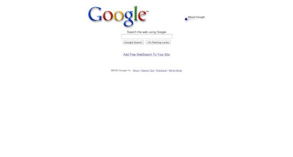 Google 20000229