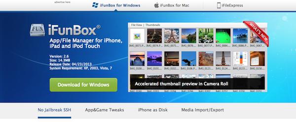 iTuneを使わずにiPhoneのデータを転送するiFunbox