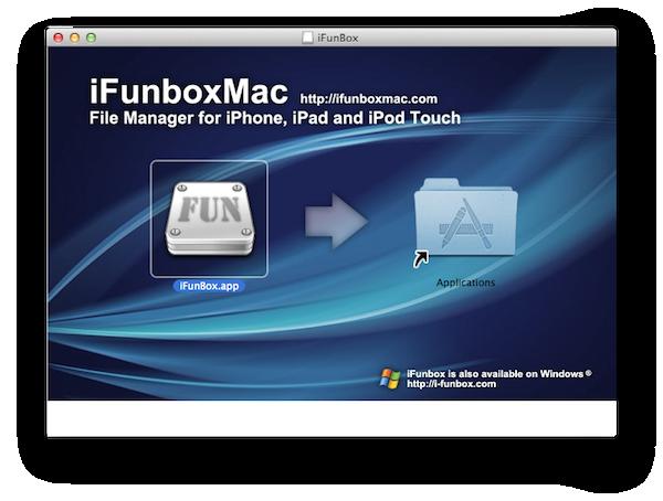 IFunboxのインストール