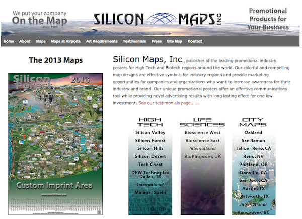 Silicon maps
