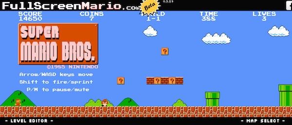 【HTML/CSSとJSだけ】ブラウザだけでサクサクプレイできるスーパーマリオ