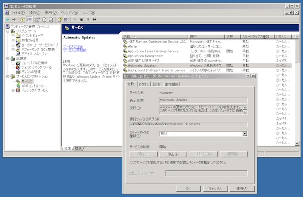 Windowsxp automatic updates