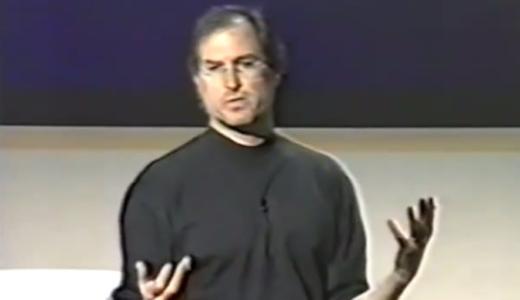 スティーブ・ジョブズがApple社内で
